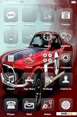 Download mobile theme RED CAR