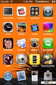 Download mobile theme Orange-Danish