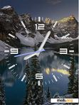 Скачать тему Mountains_CLock_FLash 12 wallpapers