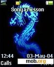 Download mobile theme blue dragon