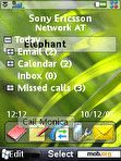 Download mobile theme Windows Vista Green