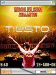 Download mobile theme Tiesto W900i