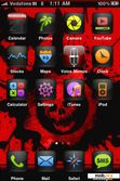 Download mobile theme Gears Of War