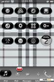 Download mobile theme Black Burberry