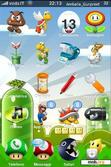 Download mobile theme SuperMario Bros