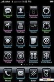 Download mobile theme Black Touch
