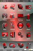Download mobile theme Red Abstract