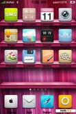 Download mobile theme Pink Shelf