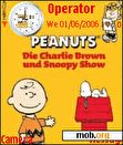 Download mobile theme Charlie Brown - Snoopy