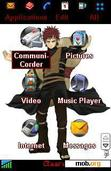 Download mobile theme Gaara of the sand