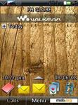 Download mobile theme Wooden