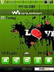 Download mobile theme Green Love Ed.