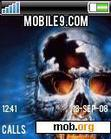 Download mobile theme skull