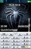 Download mobile theme Spiderman 3 with screen saver