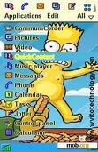 Download mobile theme Simpson the Movie