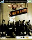 Download mobile theme Linkin park for ever
