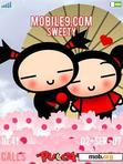 Download mobile theme Pucca in Love
