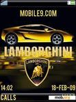 Download mobile theme Lamborghini