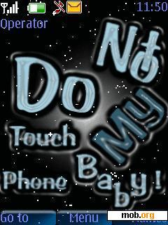 Dont Touch My Phone Theme Download Mister Wallpapers