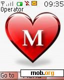 Download free letter m theme for Symbian S40 3rd Edition