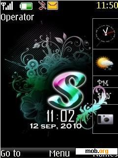 Download Free Letter S Theme For Symbian S40 5th Edition