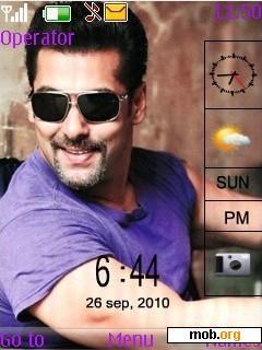 Download Free Salman Khan Theme For Symbian S40 5th Edition
