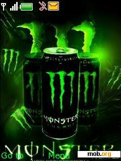 Download Free Monster Energy Theme Theme For Symbian S40 3rd Edition