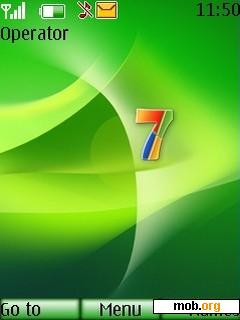 Download free Windows 7 theme for Symbian S40 5th Edition