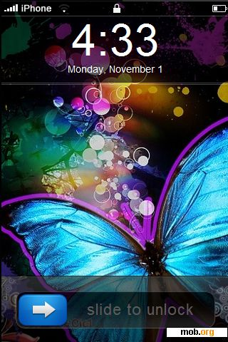 download free sweet butterflie theme for ios 4 0