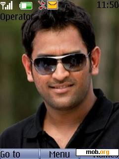 Download Free Ms Dhoni Theme For Symbian S40 5th Edition