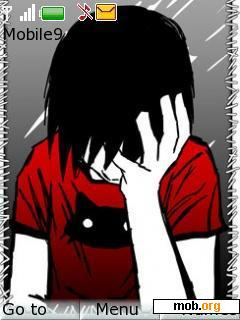 Download Free Emo Boy Theme For Symbian S40 3rd Edition