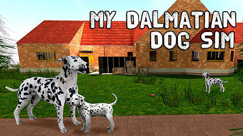 My dalmatian dog sim: Home pet life Screenshot