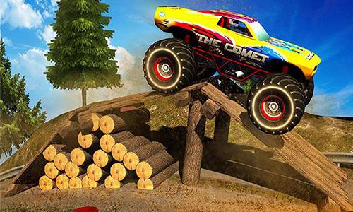 Monster truck rider 3D Screenshot