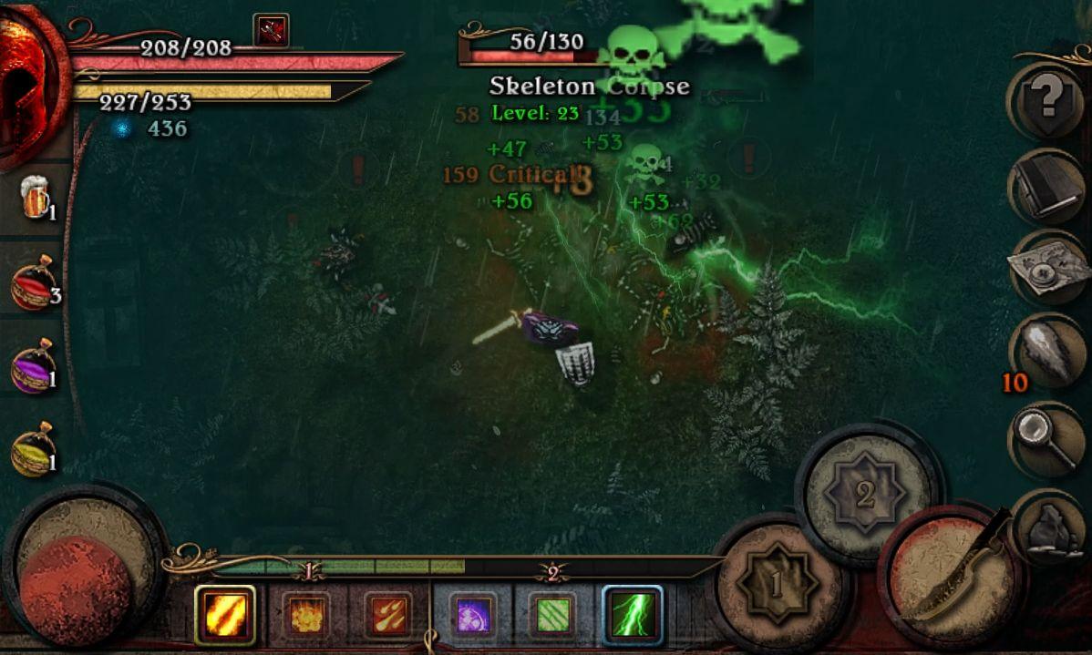 Almora Darkosen RPG captura de pantalla 1