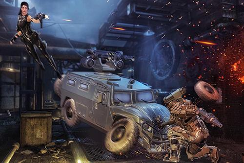 Shooting heroes legend: FPS gun battleground games screenshot 1