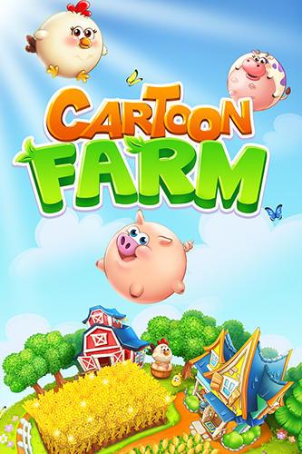 Cartoon farm ícone