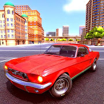 City car racing simulator 2019 іконка