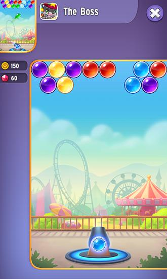 Talking Tom's bubbles для Android