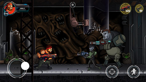 Arcade Metal SWAT: Gun for survival für das Smartphone