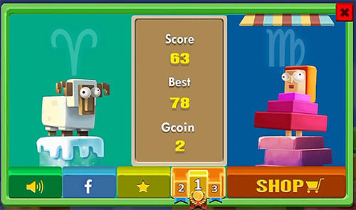 Arcade-Spiele Jumping go! für das Smartphone