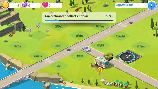 Strategie Build away! Idle city builder für das Smartphone