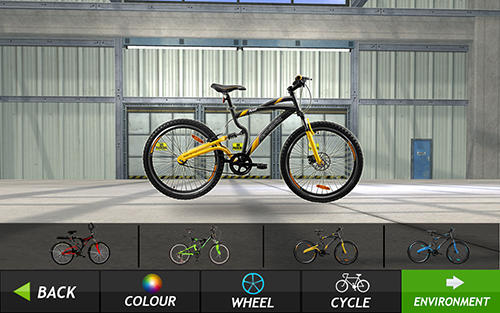 Simuladores Bicycle quad stunts racer para teléfono inteligente