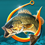 Fishing hook: Bass tournament icon