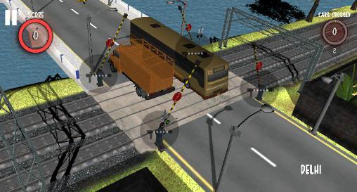 Simulation Railroad crossing 2 für das Smartphone