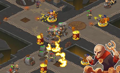 Steampunk syndicate 2: Tower defense game auf Deutsch