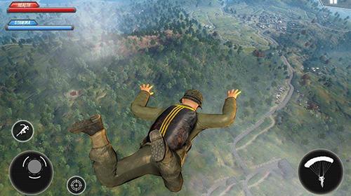 Action WW2 US army commando survival battlegrounds für das Smartphone