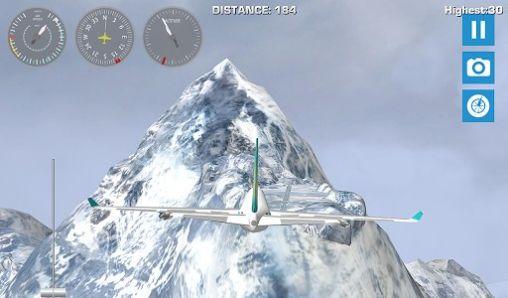 Airplane mount Everest capture d'écran