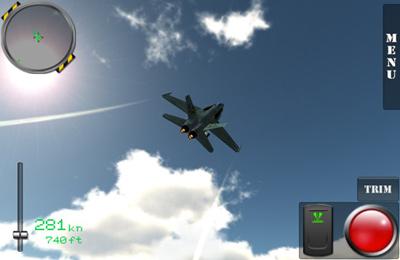 Portaaviones F18 para iPhone gratis