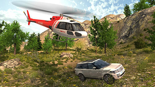 Helicopter rescue simulator Screenshot