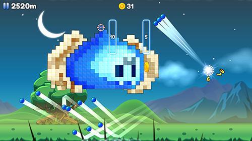 Arcade-Spiele Block monster breaker! für das Smartphone